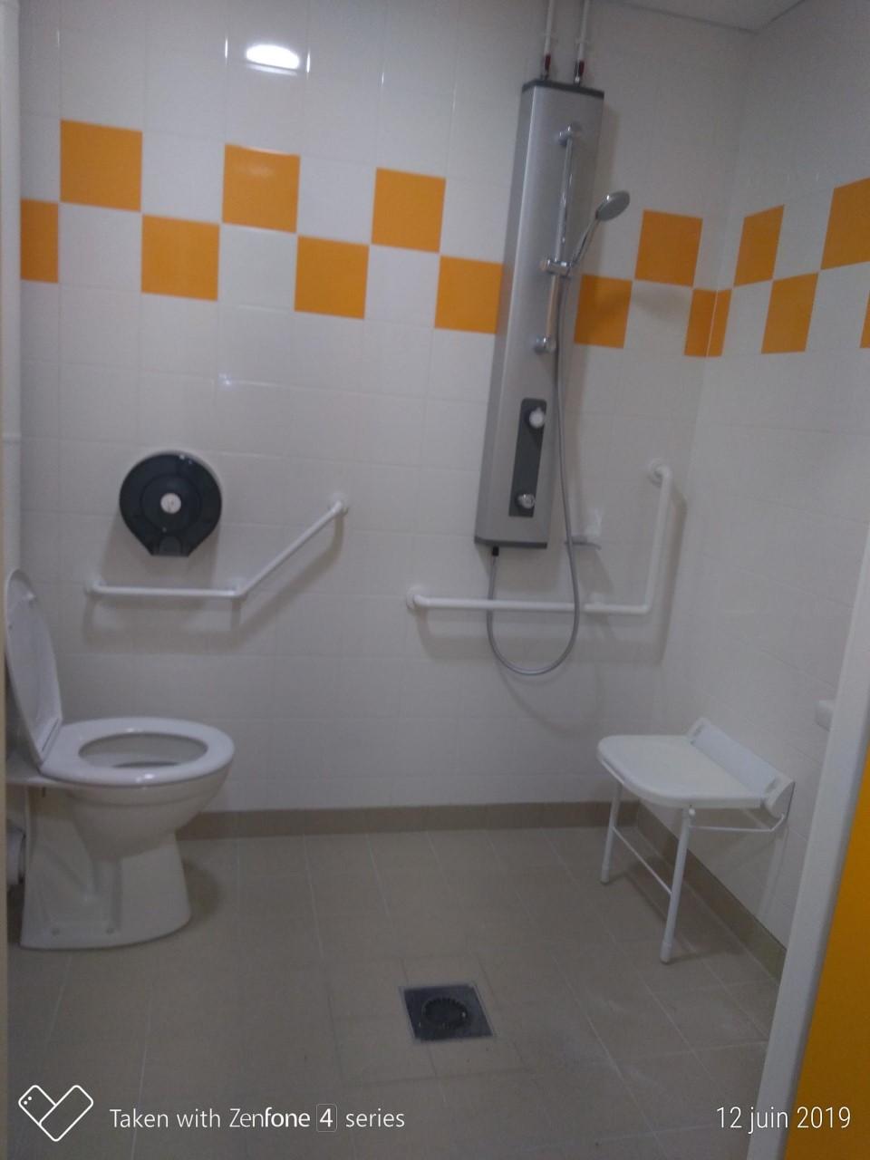 equpement sanitaire pmr