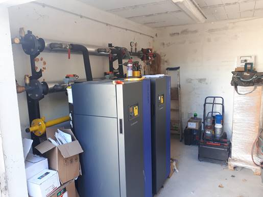 chaufferie 280 kW carriere sous poissy