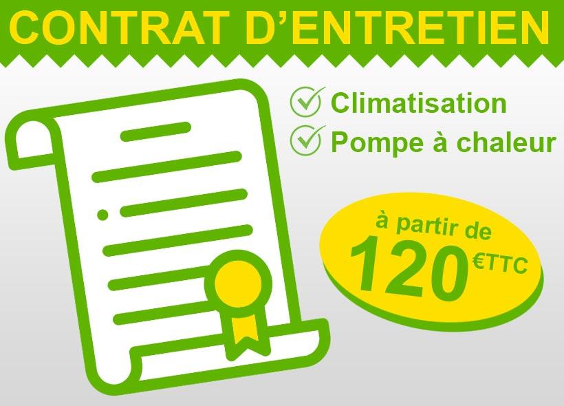 contrat entretien climatisation pompe a chaleur 95