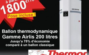Pose ballon thermodynamique – Promo