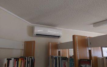 Installation climatisation 95 – Bibliothèque Saint-Brice-sous-Forêt